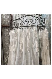 Maison A Iron Hanging Crown - Front cropped