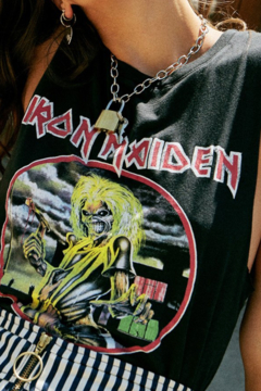 Shoptiques Product: Iron Maiden Debut Muscle Tank