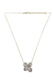 Lets Accessorize Irregular Clover Necklace - Product Mini Image