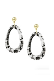 Lets Accessorize Irregular-Shape Drop Earrings - Product Mini Image