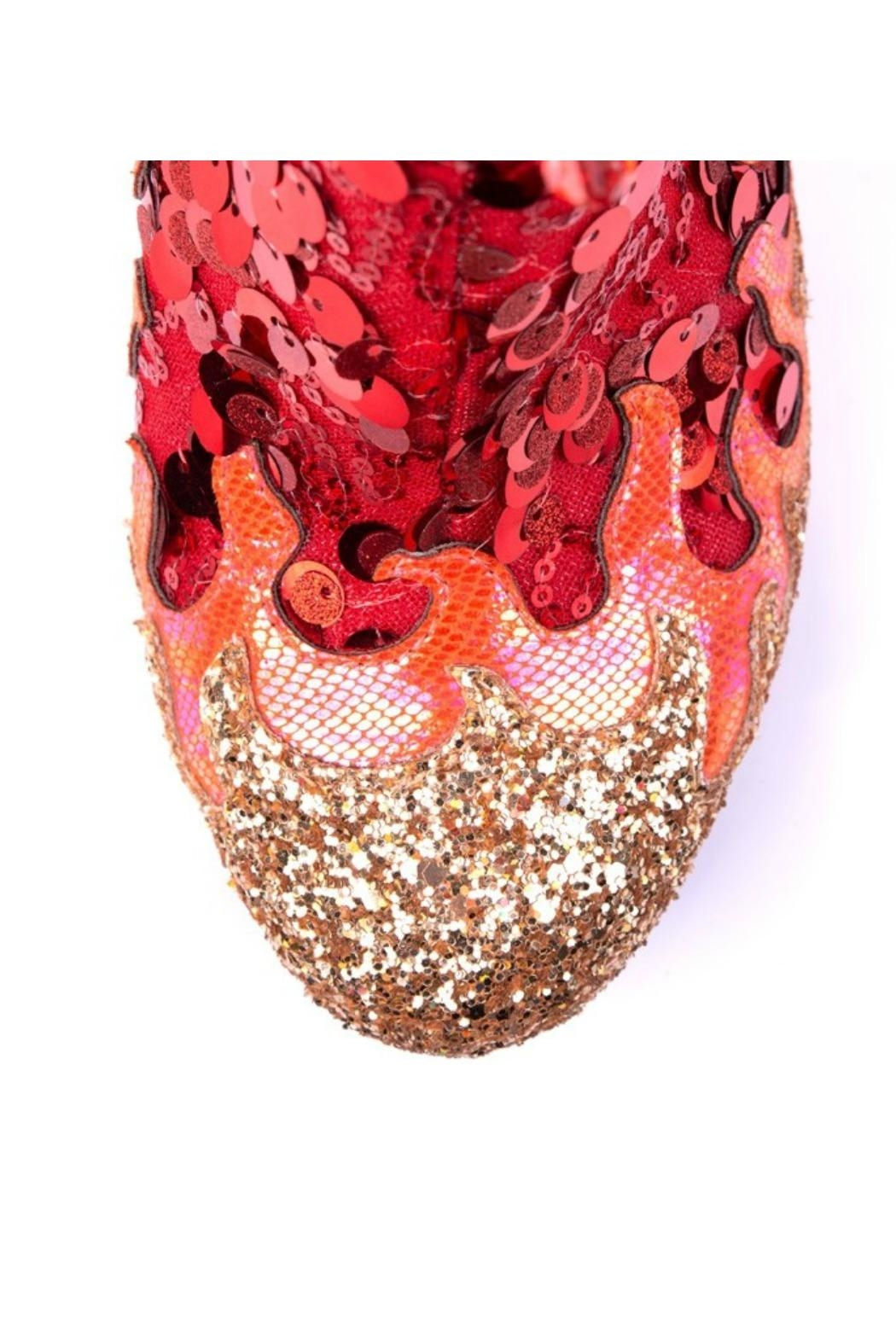 Irregular Choice Arise Glitter Boot - Side Cropped Image