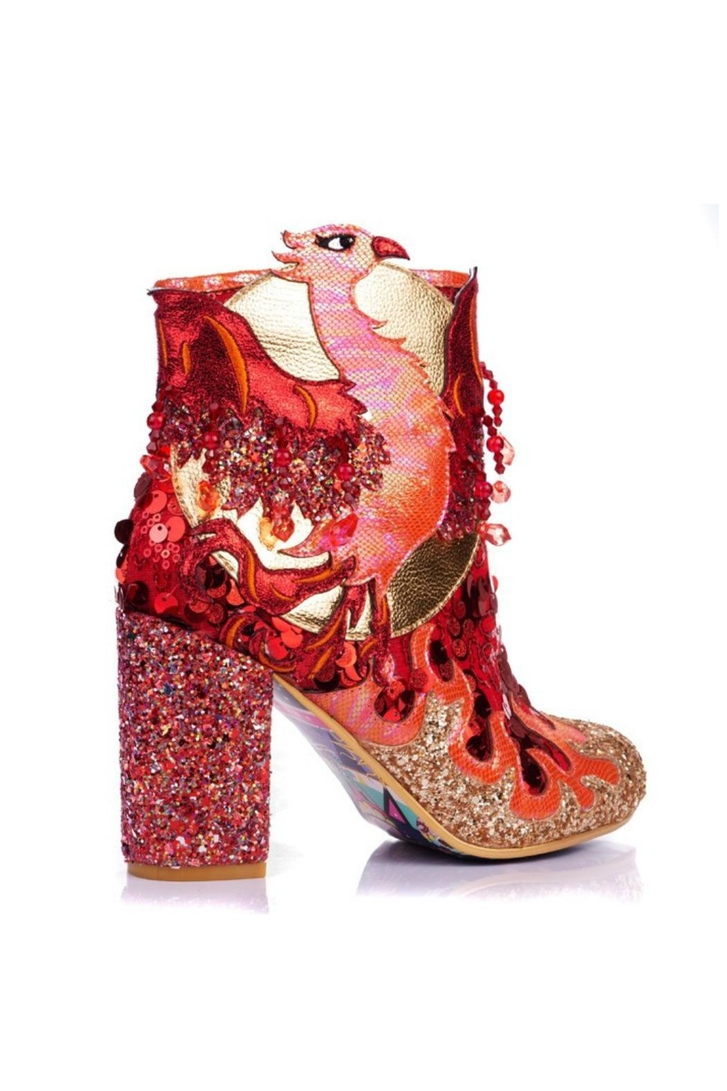Irregular Choice Arise Glitter Boot - Front Full Image
