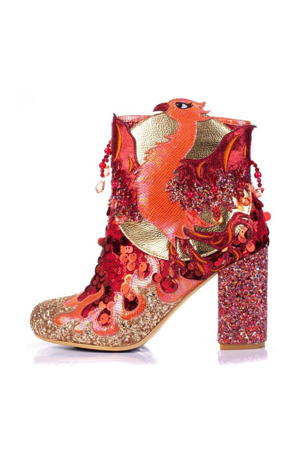 Irregular Choice Arise Glitter Boot - Main Image