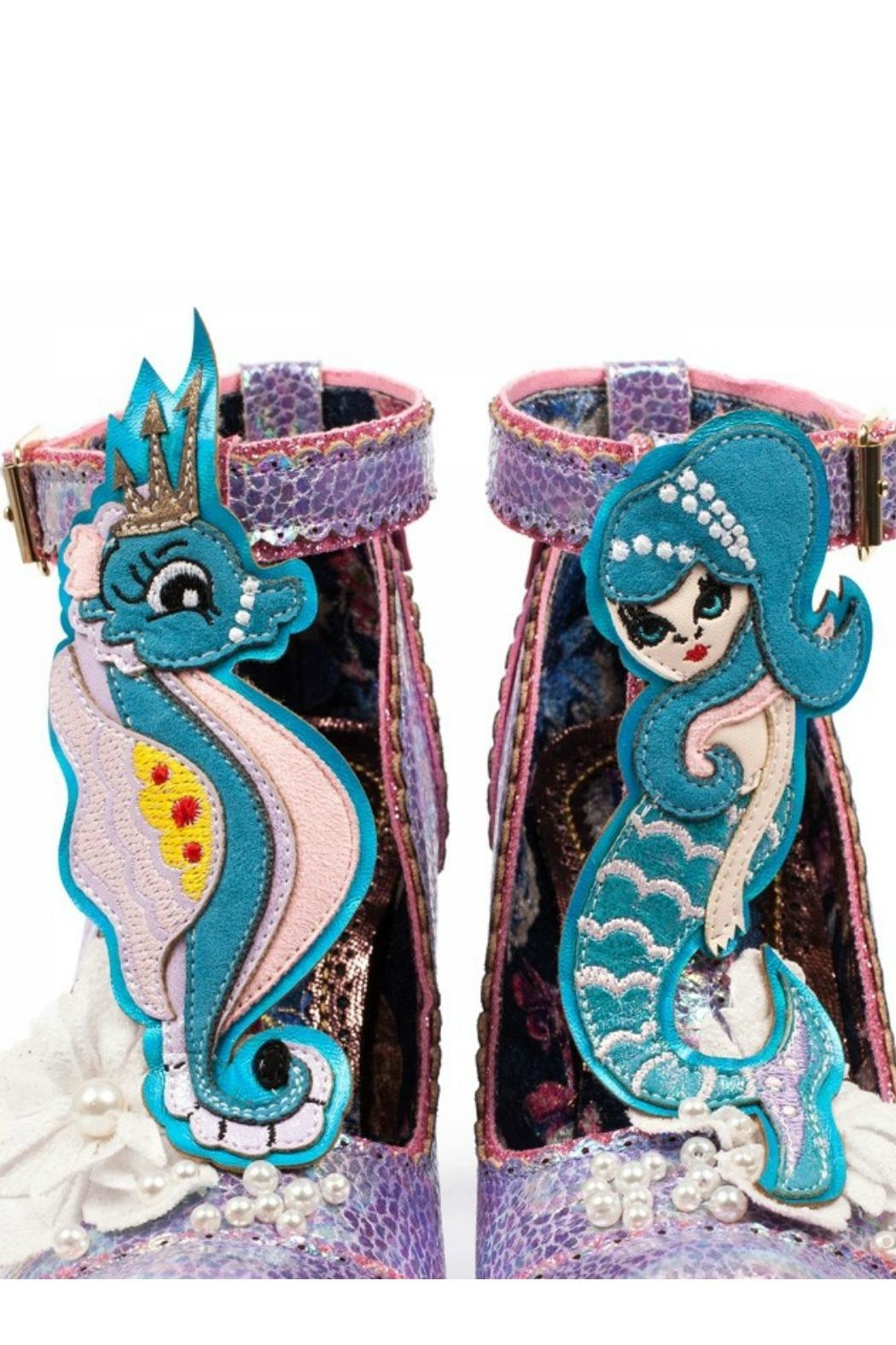 Irregular Choice Barnacle Betty Shoes - Side Cropped Image