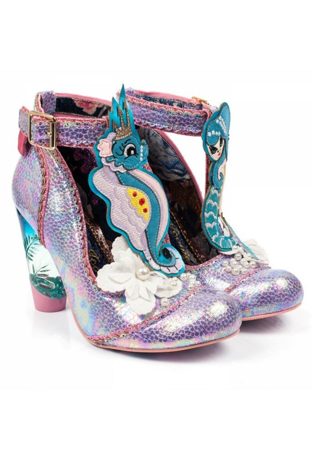 Irregular Choice Barnacle Betty Shoes - Front Full Image