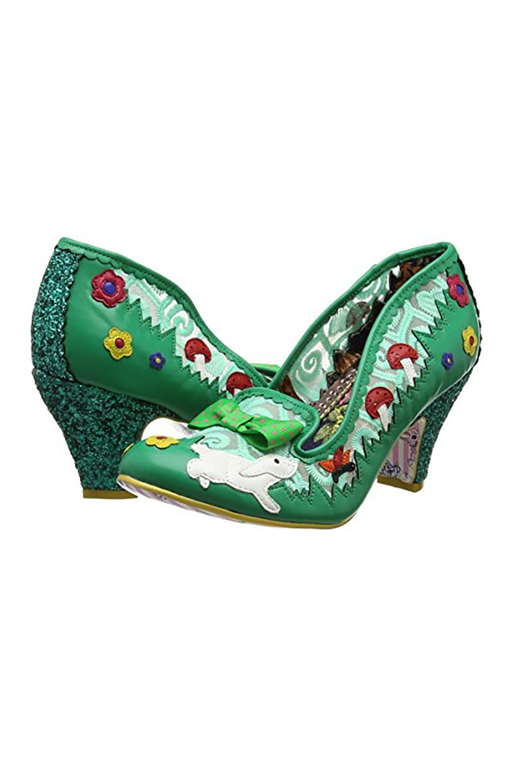 Irregular Choice Bunny Journey Shoes - Front Cropped Image