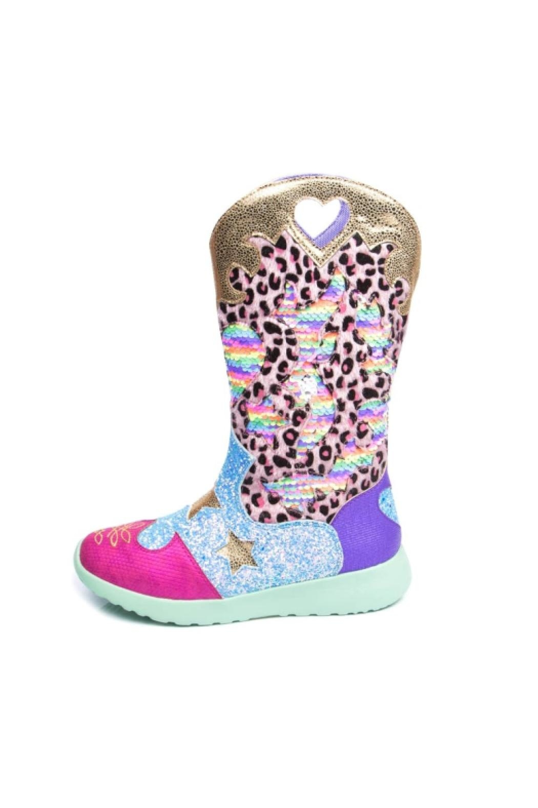 Irregular Choice Croydon Cowboy Boots - Front Cropped Image