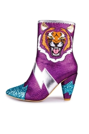 Irregular Choice Easy Tiger Boots - Front cropped