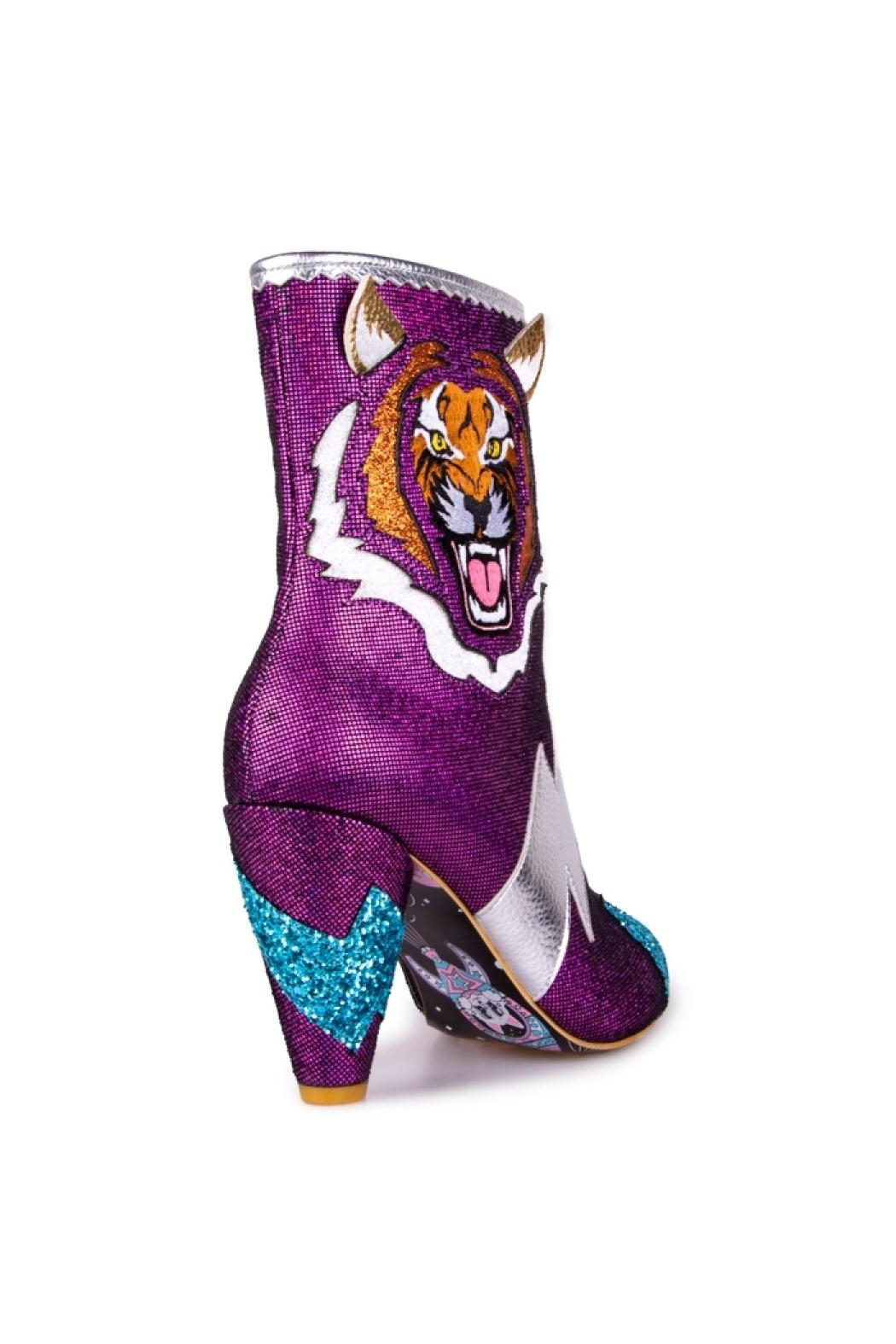 Irregular Choice Easy Tiger Boots - Side Cropped Image