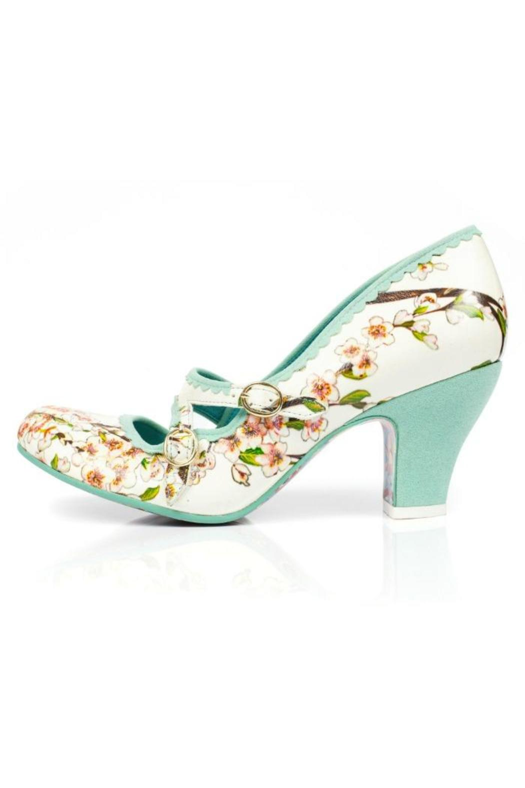 Irregular Choice Floral Kitten Heel from Williamsburg by The Shoe ...