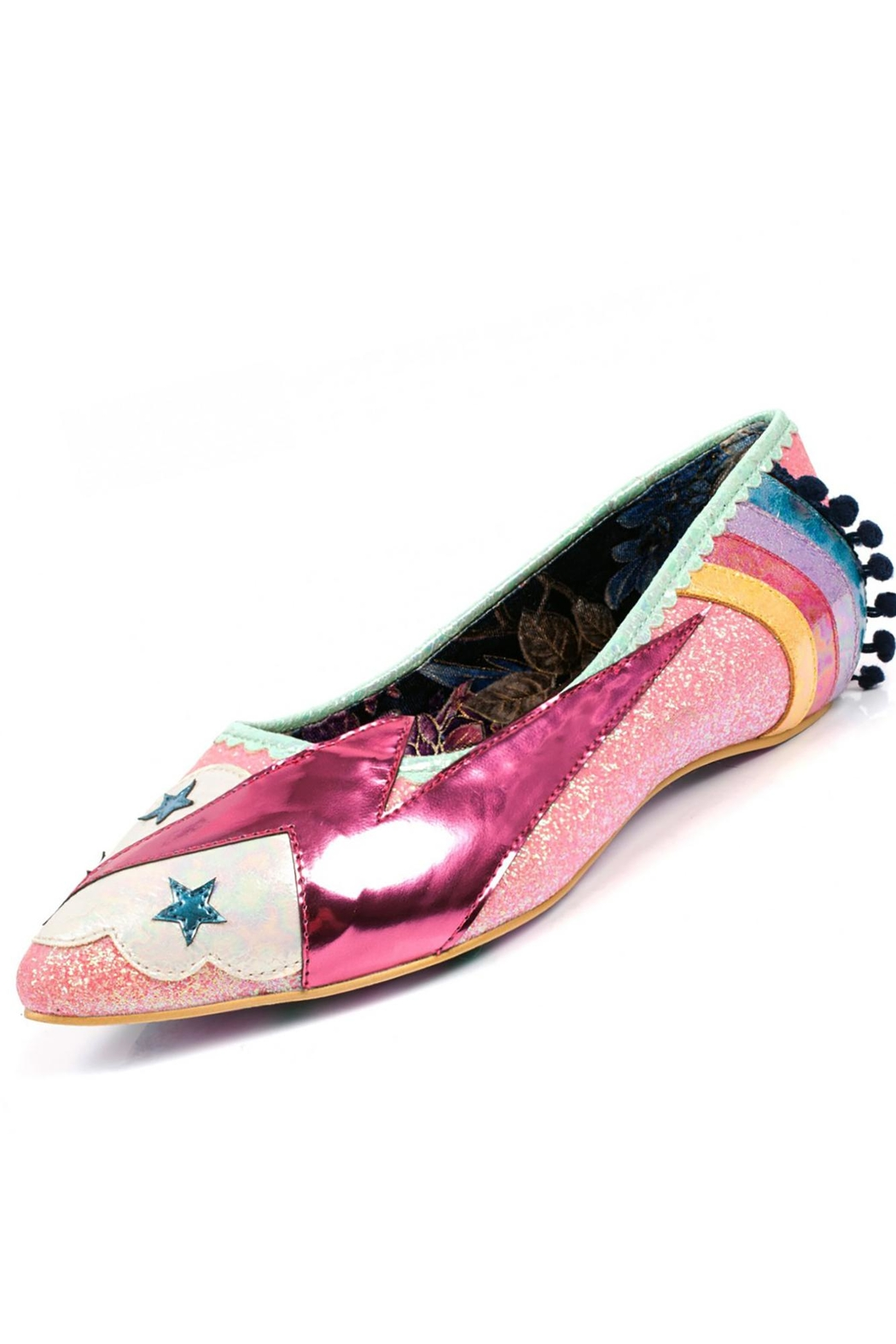 Irregular Choice Ground Control Shoes - Front Cropped Image
