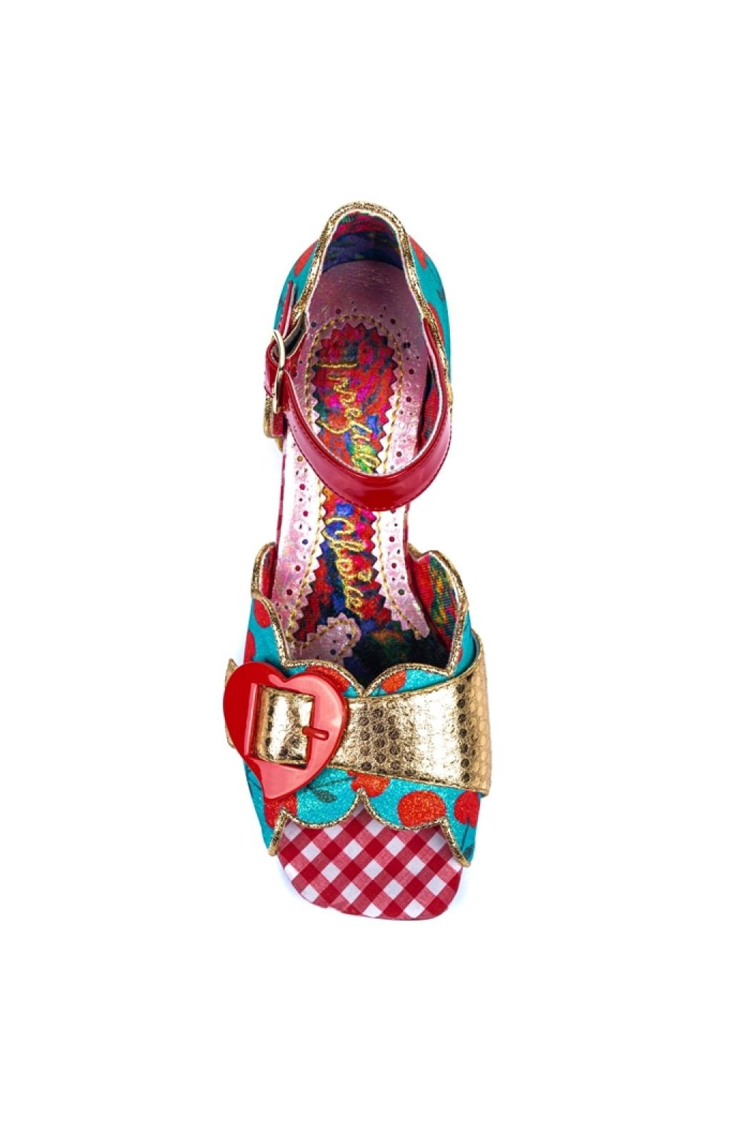 Irregular Choice Jelly Trifle Sandals - Front Full Image