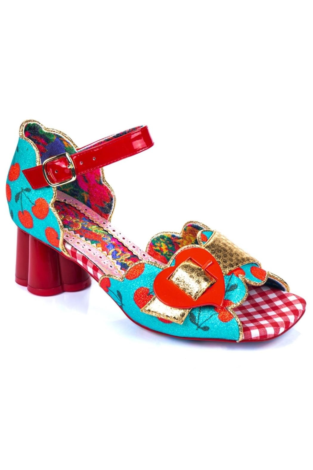 Irregular Choice Jelly Trifle Sandals - Back Cropped Image