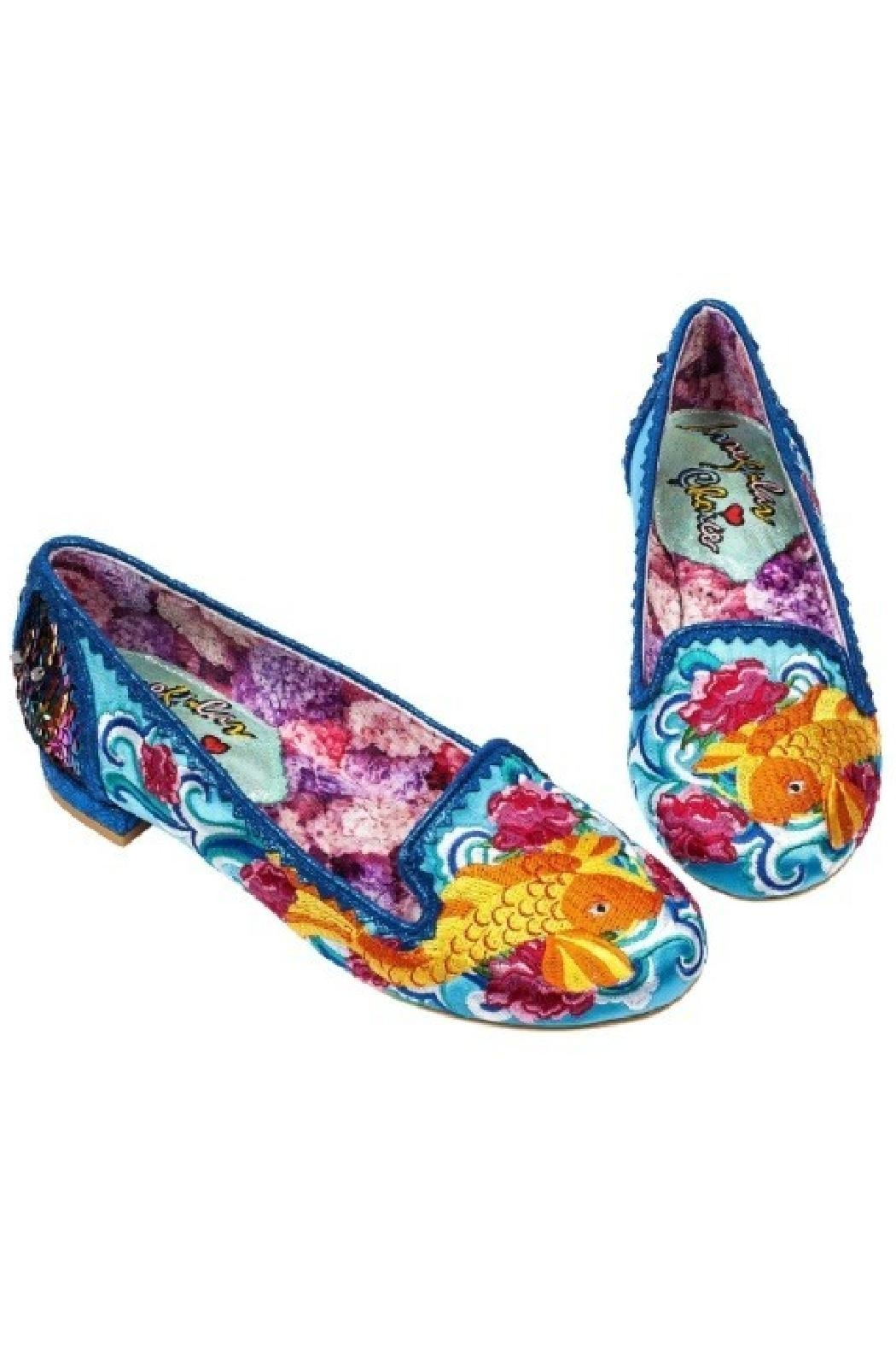 Irregular Choice Koi Fish Flats - Front Full Image