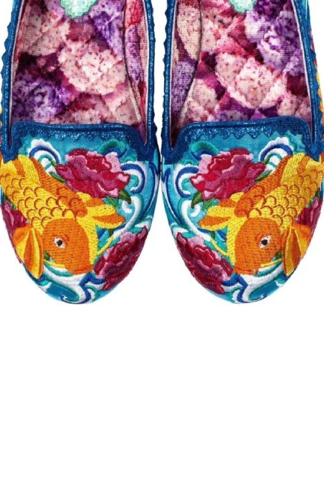 Irregular Choice Koi Fish Flats - Back Cropped Image