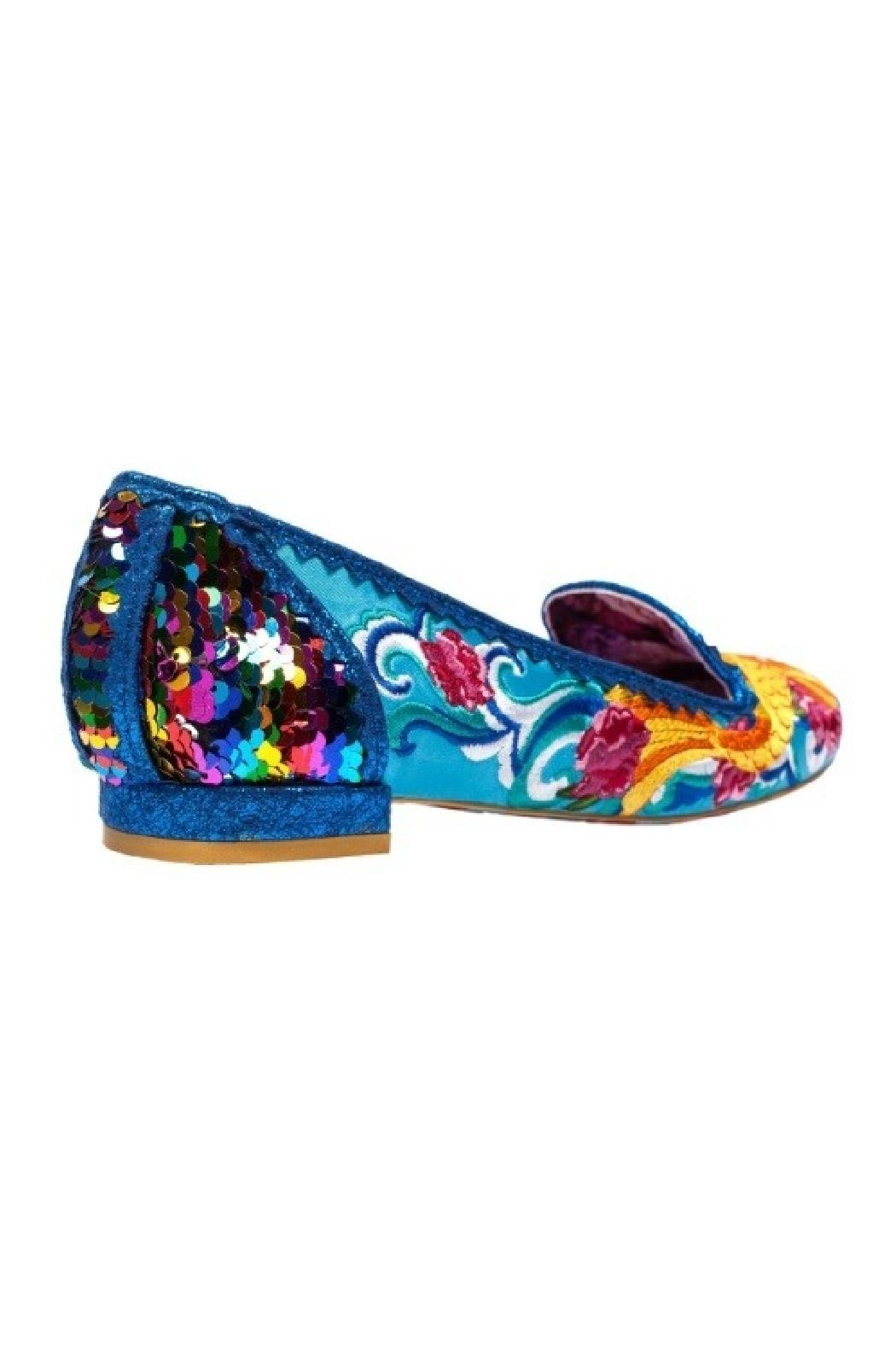 Irregular Choice Koi Fish Flats - Side Cropped Image