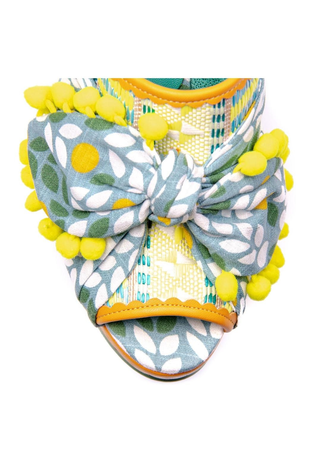 Irregular Choice Pom Pom Mules - Side Cropped Image