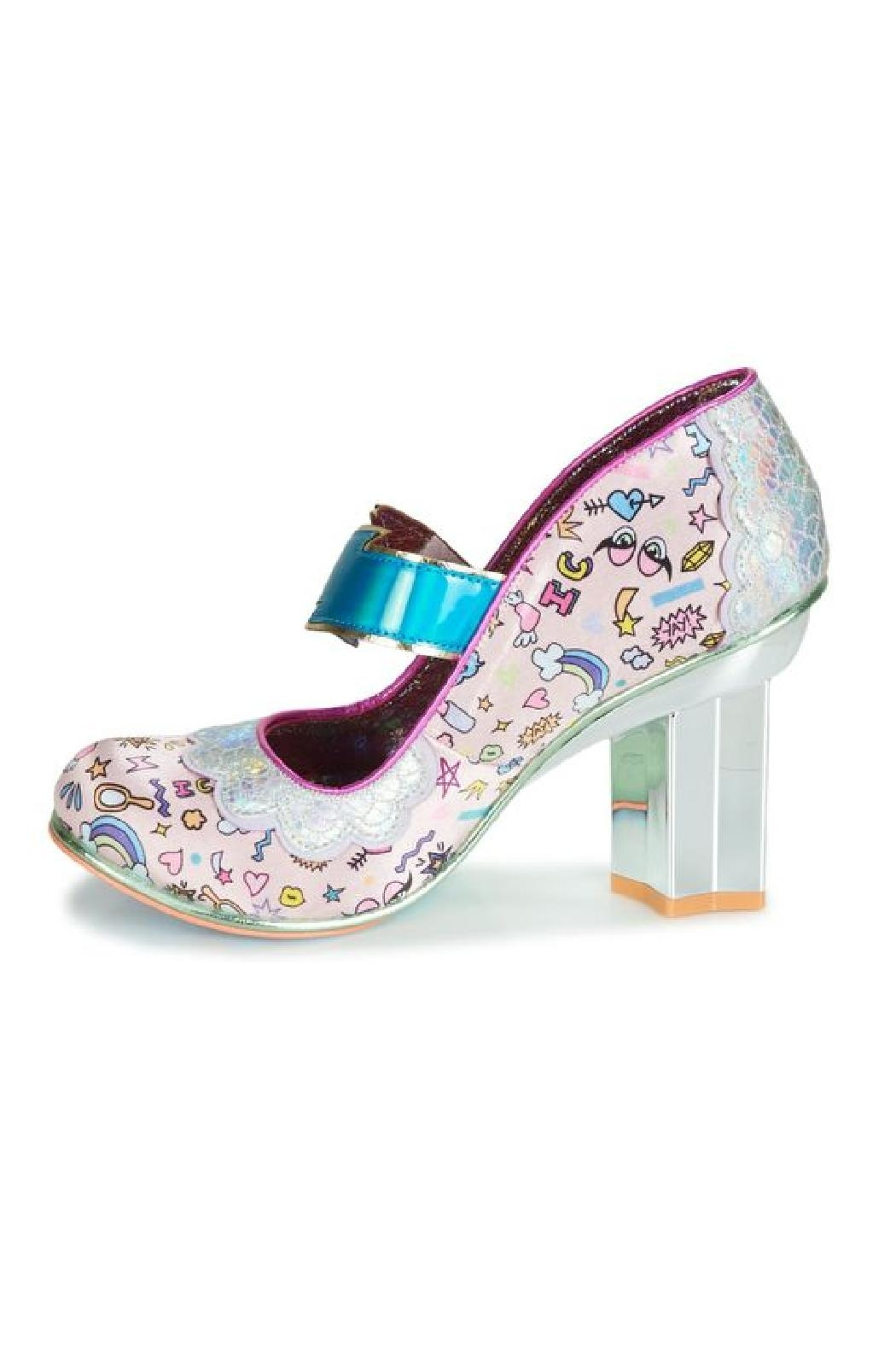 Irregular Choice Rainbow Thunder Heels - Main Image