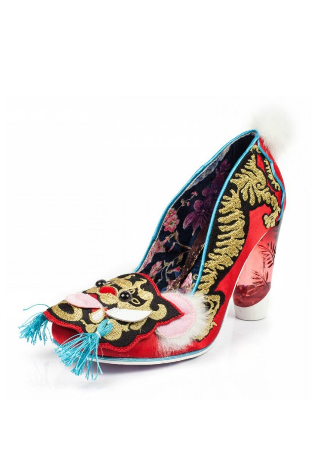 Irregular Choice Ruby Envelope Heels - Front Full Image