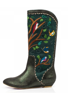 Irregular Choice Septima Embroidered Boots - Product List Image