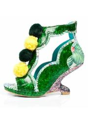 Irregular Choice Tropical Green Heel - Product Mini Image
