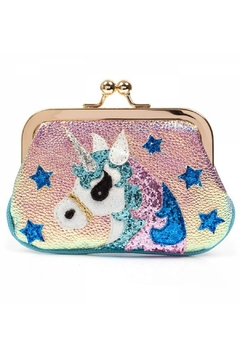 Shoptiques Product: Unicorn Kisslock Purse