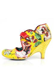 Irregular Choice Yellow Floral Heel - Product Mini Image
