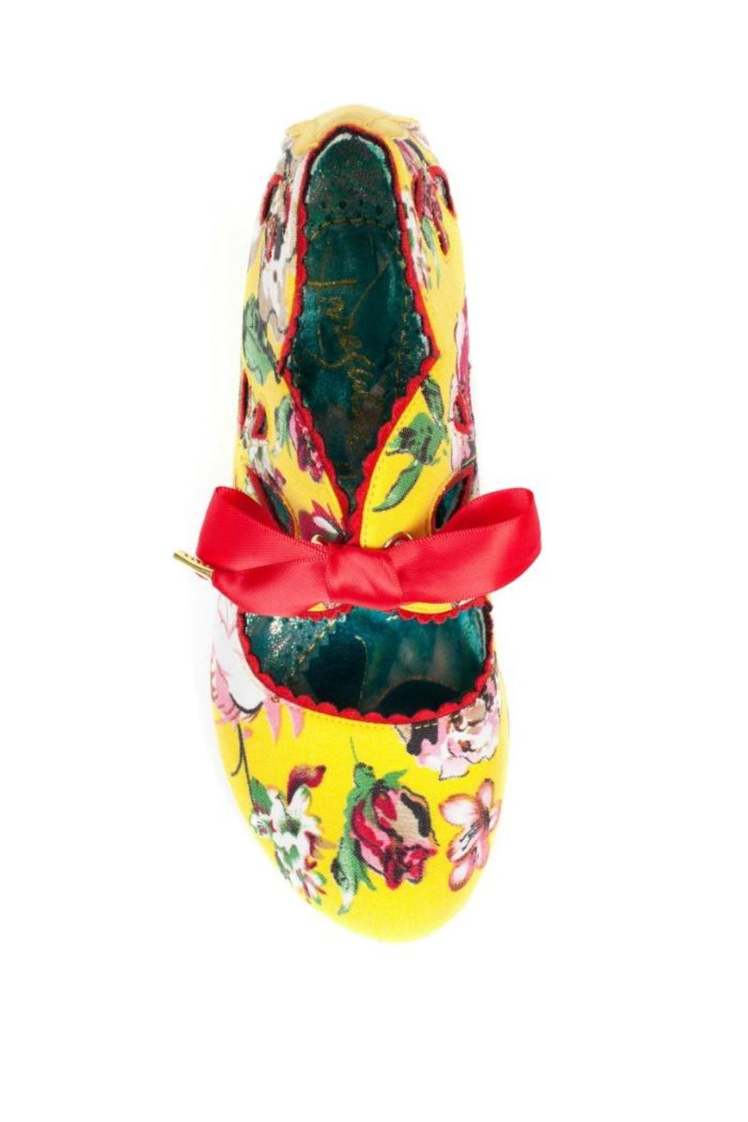 Irregular Choice Yellow Floral Heel From Williamsburg By