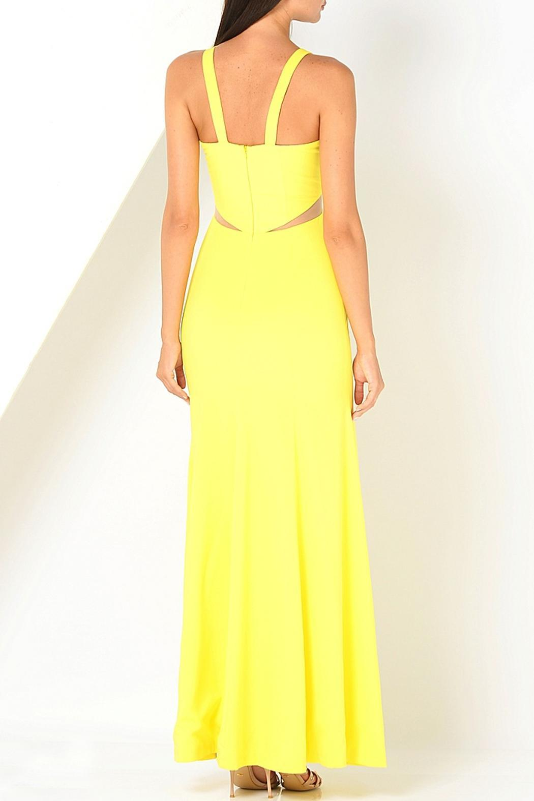 Isabel Garcia Maxi Yellow Dress - Front Full Image