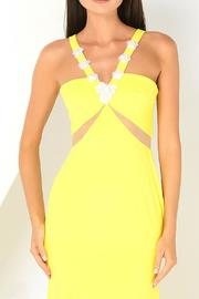 Isabel Garcia Maxi Yellow Dress - Side cropped
