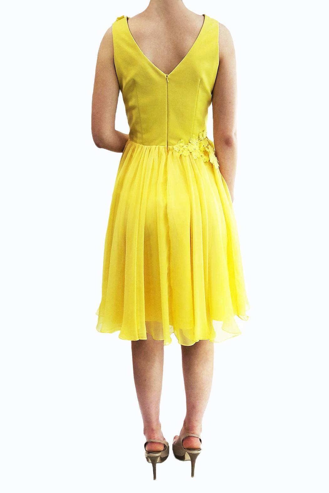 Isabel Garcia Sunny Flower Dress - Side Cropped Image