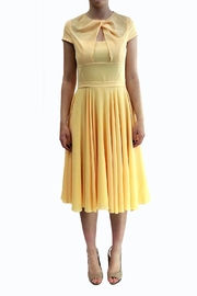 Isabel Garcia Yellow Midi Dress - Product Mini Image