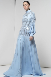 Isabel Sanchis Long-Sleeve Esmerald Gown - Product Mini Image