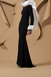 Isabel Sanchis Long Sleeve Gown - Product Mini Image