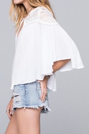Band Of Gypsies Isabella Blouse - Front full body