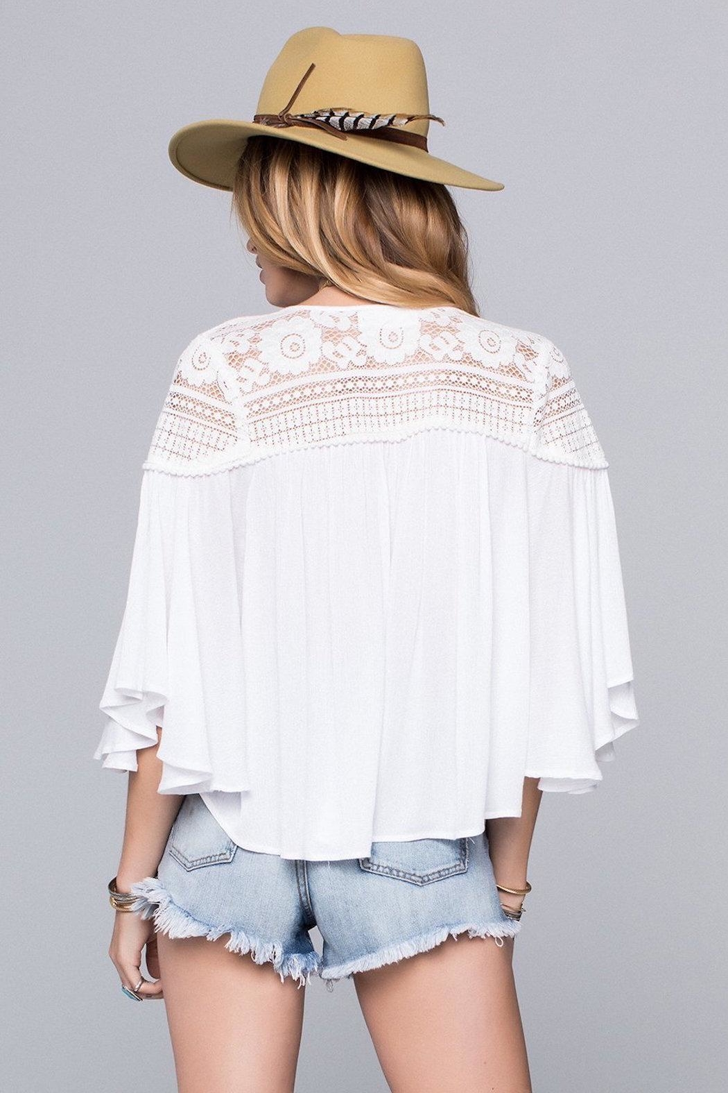 Band Of Gypsies Isabella Blouse - Side Cropped Image