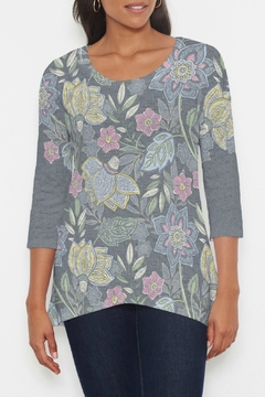 Shoptiques Product: Isabella's Garden Hi-Lo Thermal Tunic