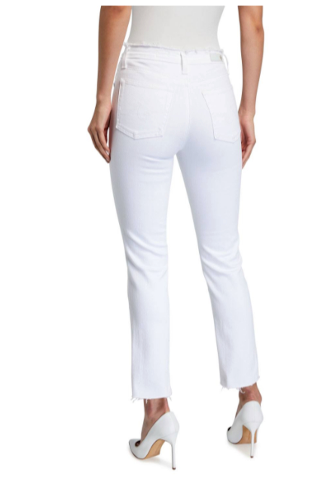 AG Adriano Goldschmied isabelle jeans white - Front Full Image