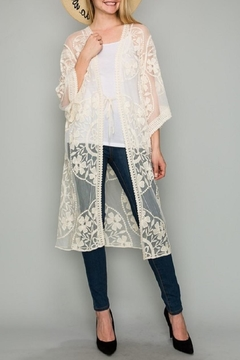 Amazing Grace Isabelle Lace Duster - Product List Image