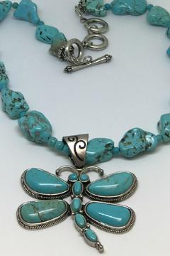 Shoptiques Product: Natural Turquoise Necklace