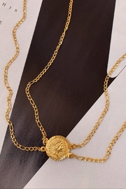 BRACHA Isadora Coin Necklace - Product Mini Image