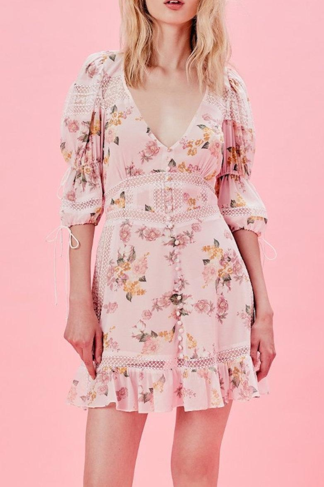 FOR LOVE & LEMONS Isadora Dress - Main Image