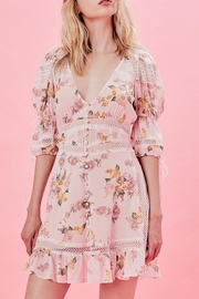 FOR LOVE & LEMONS Isadora Dress - Front full body