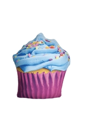 Iscream Cupcake Scented Pillow - Front full body