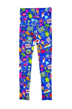 Iscream Embroidered Patch Leggings - Alternate List Image