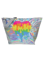 Iscream Halographic Heart Bag - Product Mini Image