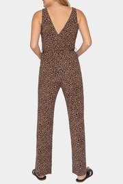 Tart Collections Isidore Leopard Print Jumpsuit - Front full body