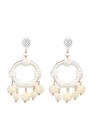 Madison Avenue Accessories Isis Statement Earring - Product Mini Image
