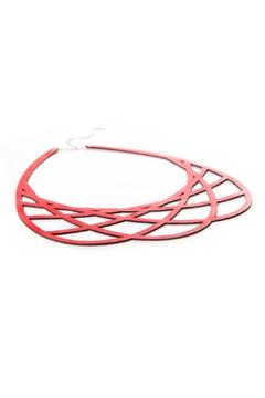 Shoptiques Product: Mila Necklace Red