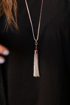 Shoptiques Product: Tassel Fringe Necklace
